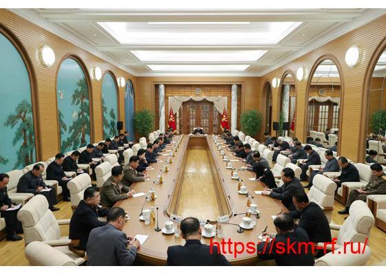 Состоялось расширенное заседание Политбюро ЦК ТПК 7-го созыва