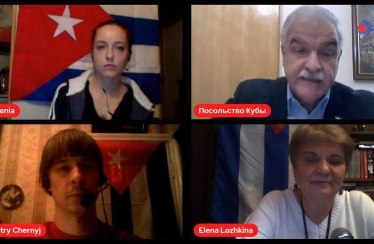 Первый прямой эфир российского канала «Европа для Кубы»