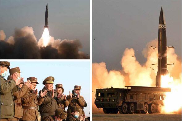 Академия национальной обороны КНДР провела испытательный запуск тактической управляемой ракеты нового типа