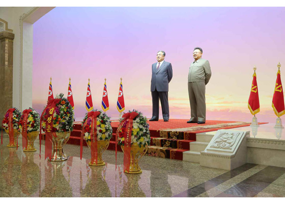 День Солнца прошёл в КНДР как никогда торжественно