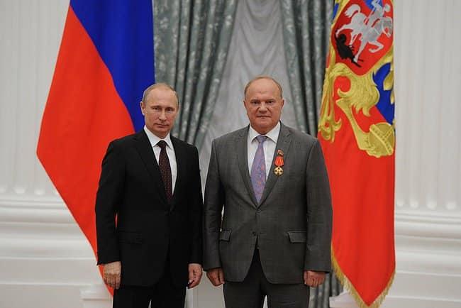 Зюгановский вертеп могут атаковать только агенты Путина!